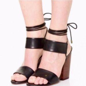 Splendid Kenya Block Heel Ankle Tie Sandals